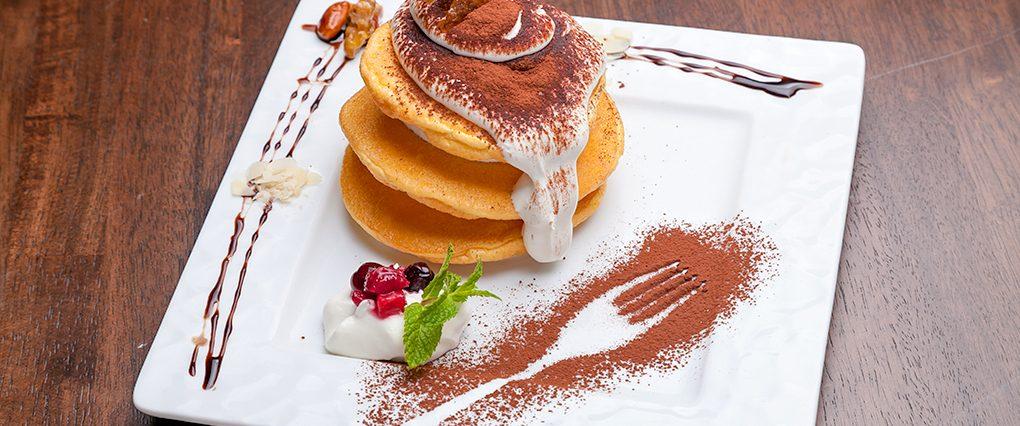 魅惑のティラミスパンケーキ